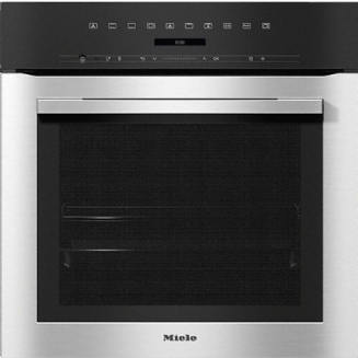MIELE H7164 B Oven attractive stainless steel design with networking and PerfectClean